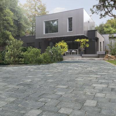 Pavés NEWHEDGE Vieilli 3Formats coloris Grey